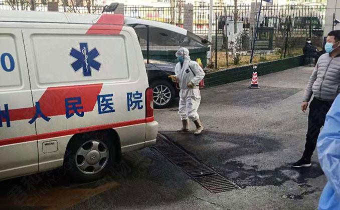 医院后勤消毒工作